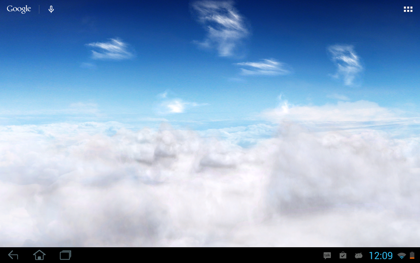 Blue Sky Live Wallpaper