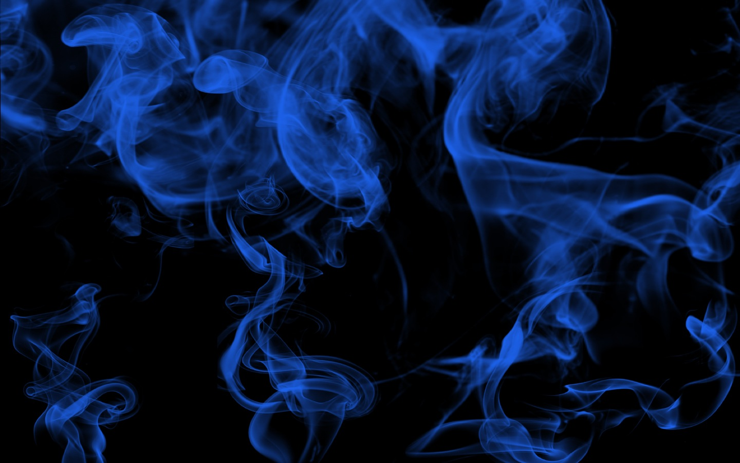 Blue Smoke HD Wallpaper