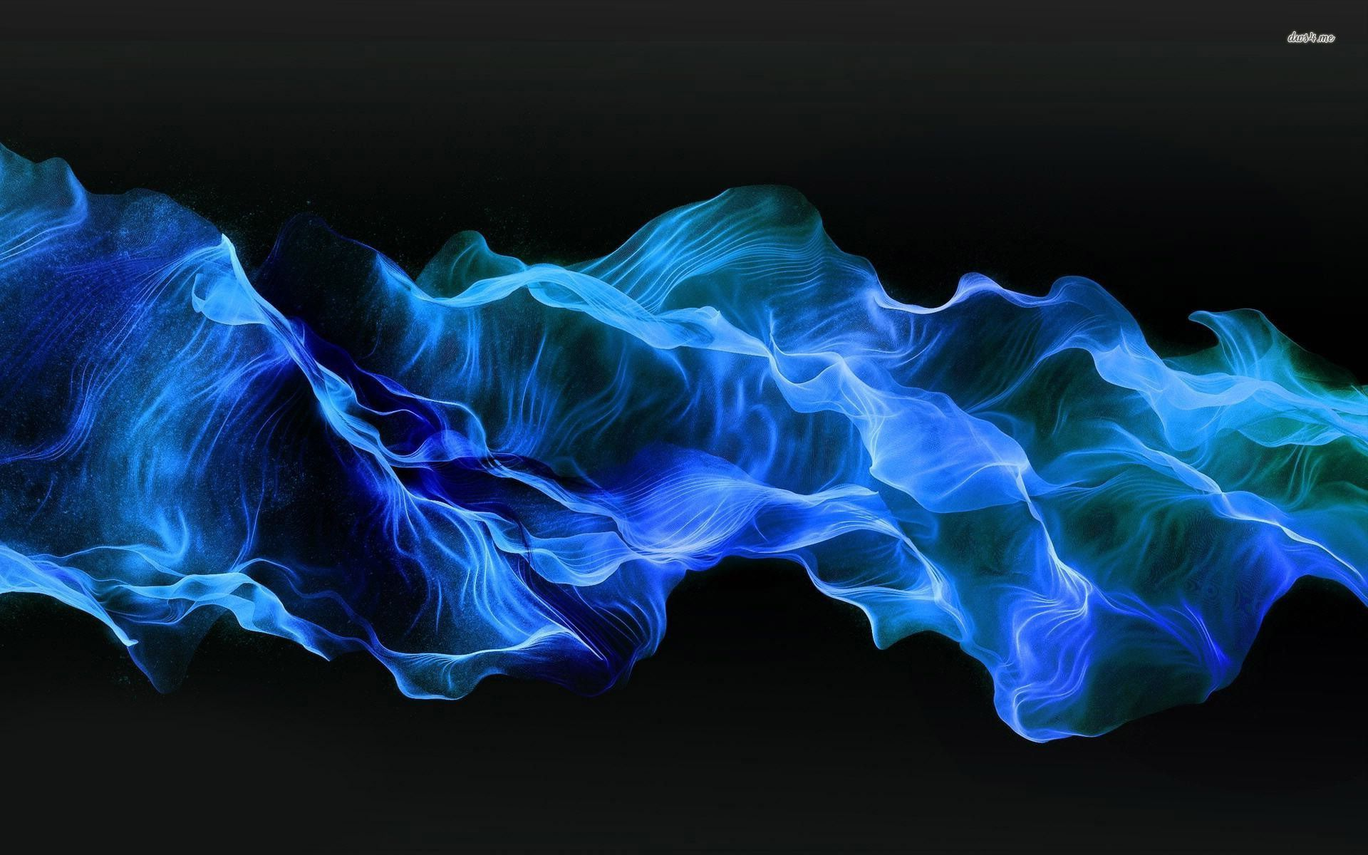 download blue smoke hd wallpaper gallery
