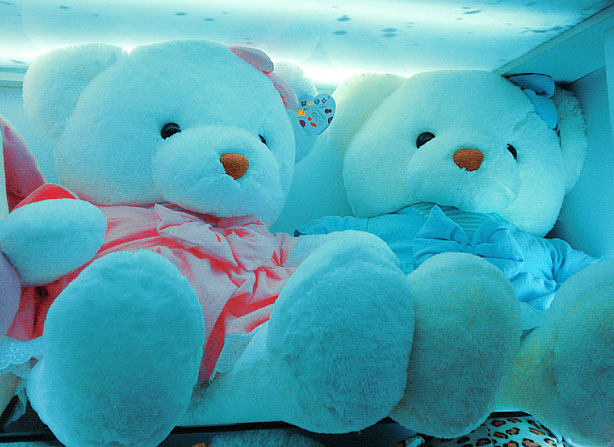 Blue Teddy Bear Wallpapers