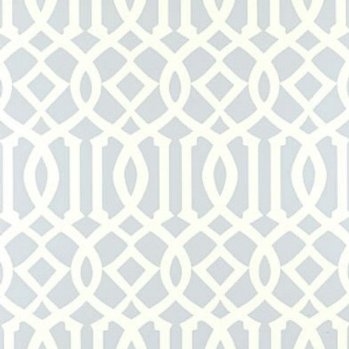 Blue Trellis Wallpaper