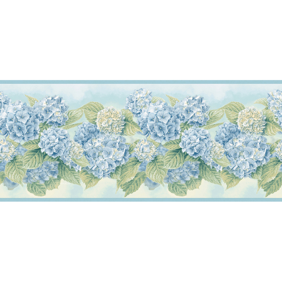 Blue Wallpaper Border