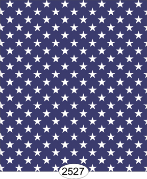 Blue Wallpaper With White Stars