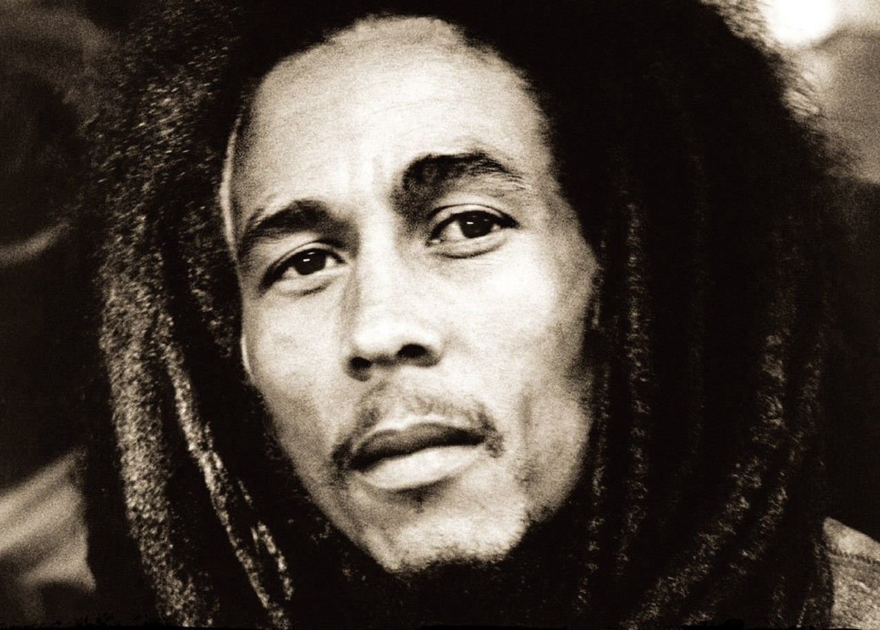 Bob Marley Wallpaper Black And White