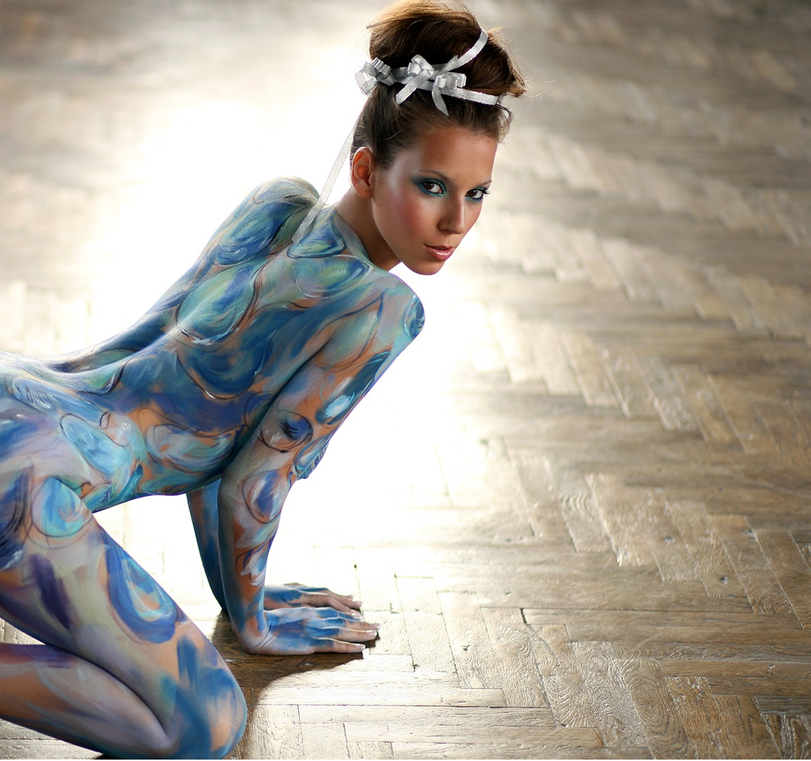 Body Painting Male Nature