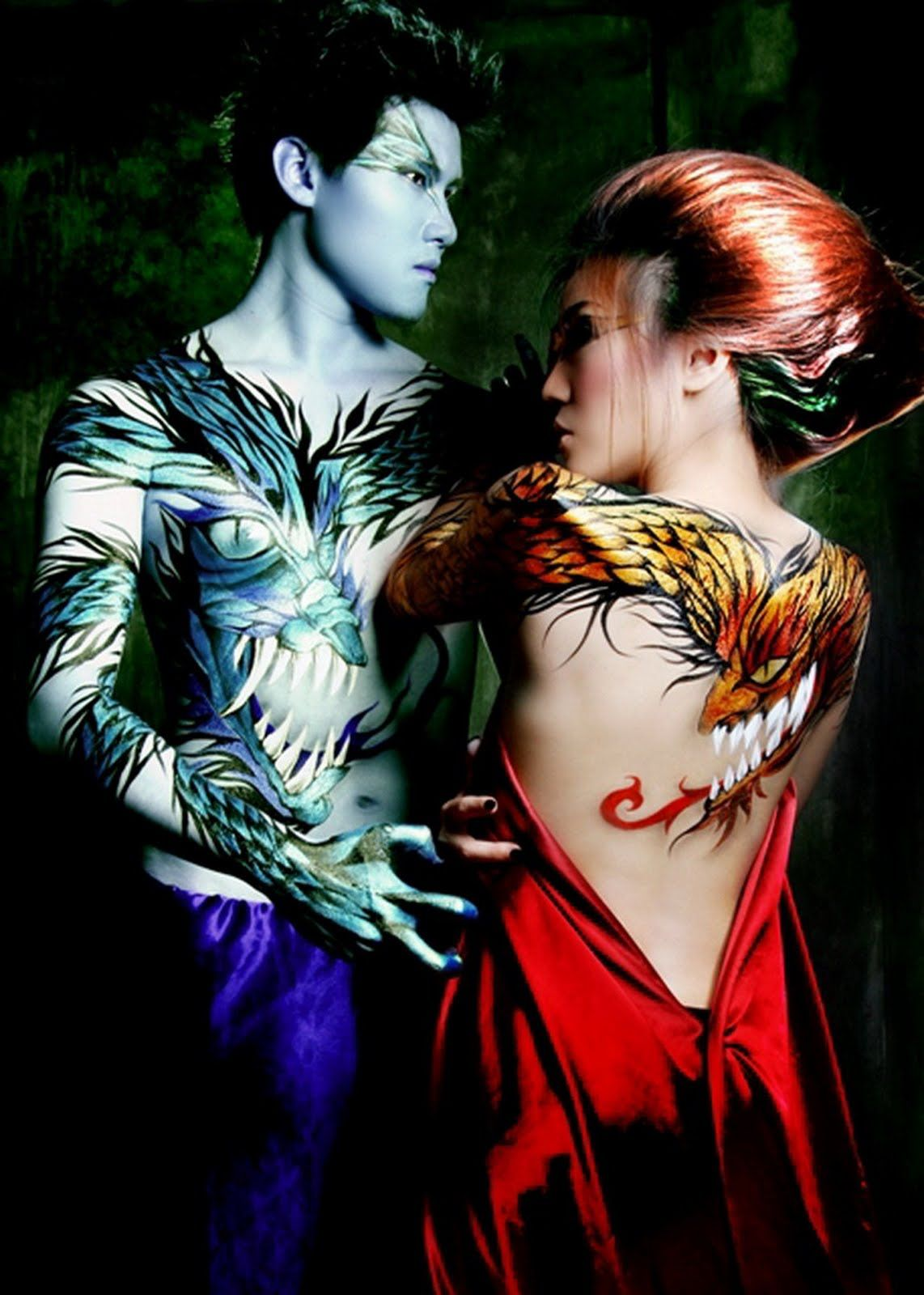 Body Painting HD Wallpaper