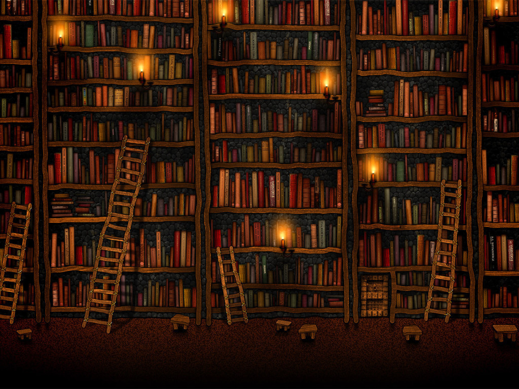 Book Lover Wallpaper
