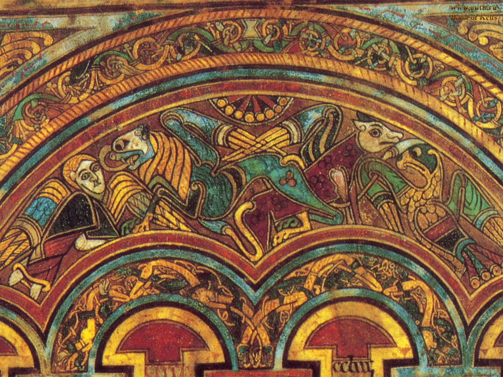 Book Of Kells Wallpaper