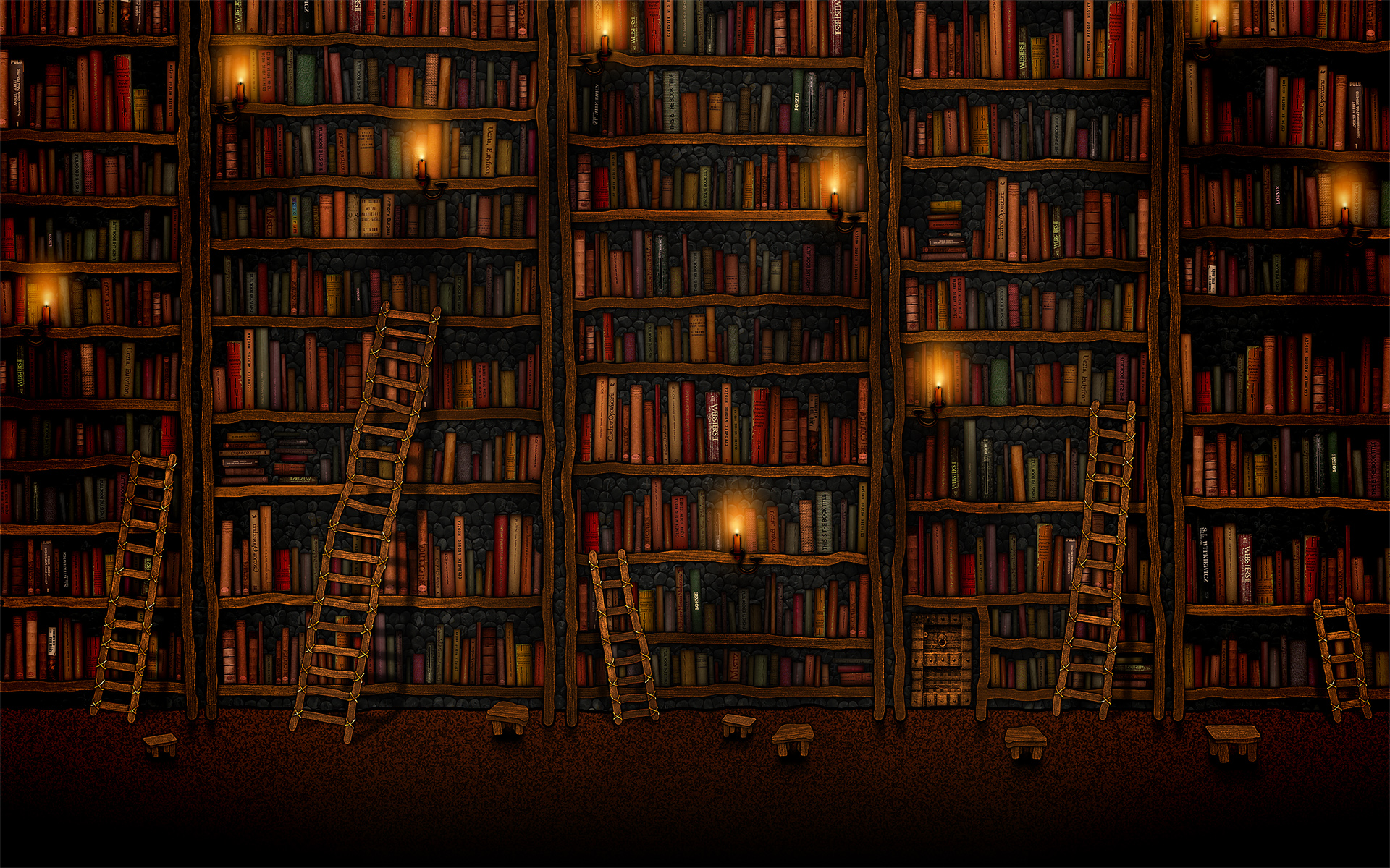 Books Wallpaper Desktop