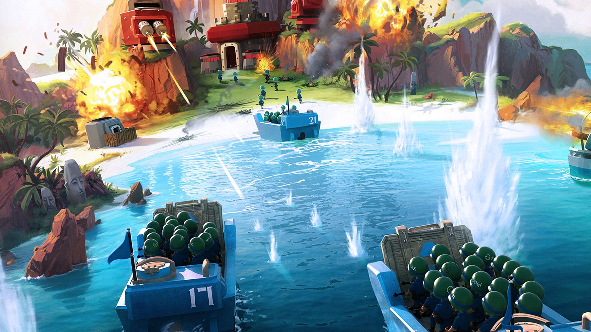 Boom Beach Wallpaper
