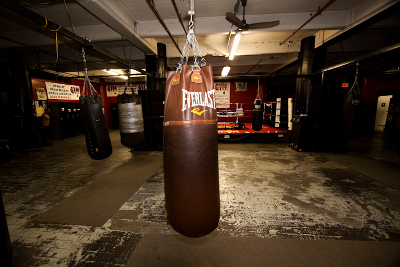 Boxing Gym Wallpaper