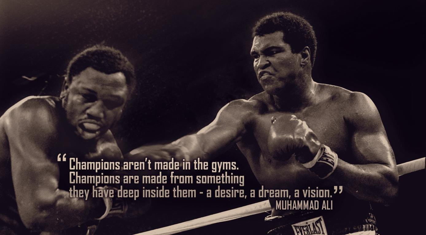 Boxing Motivation Wallpaper