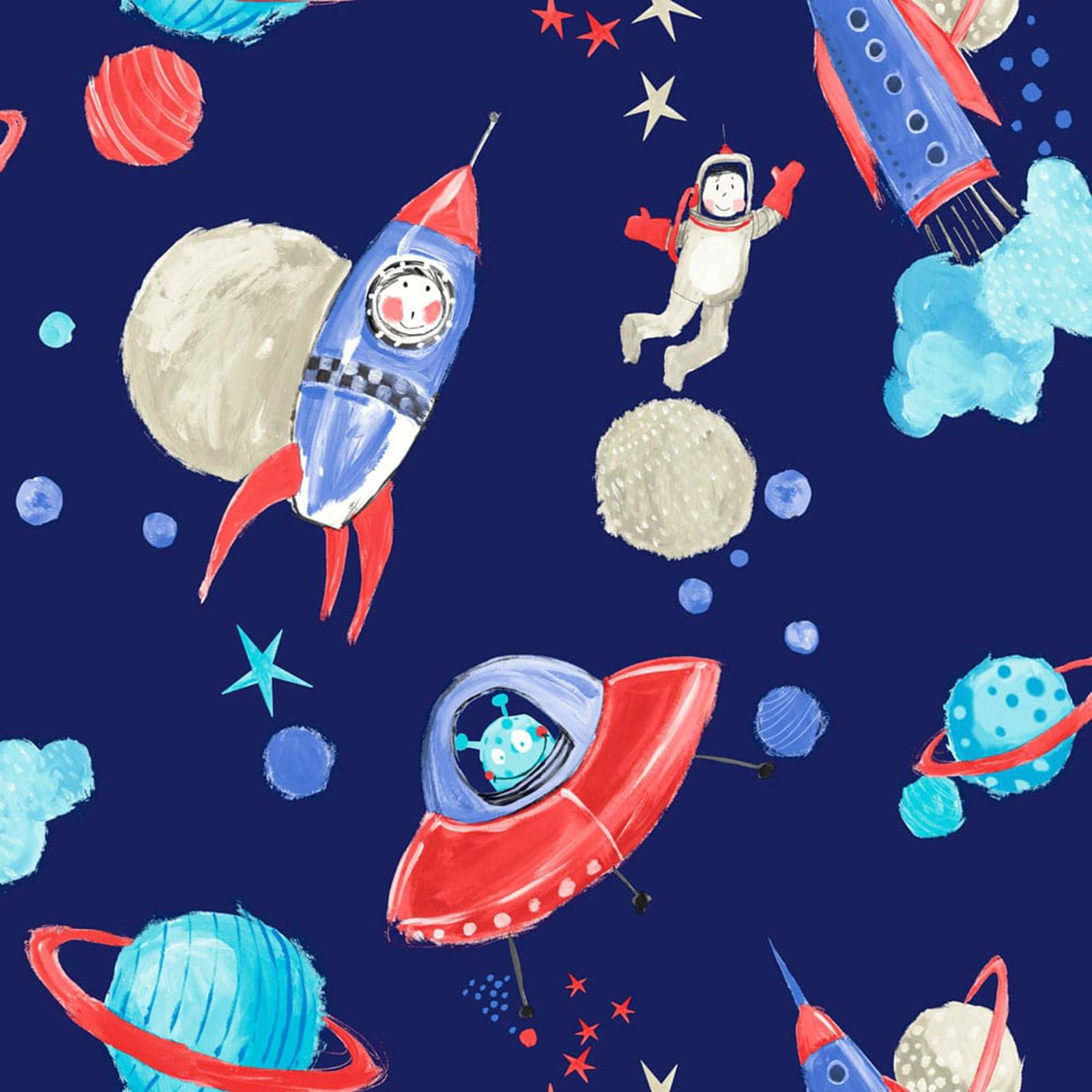 Boys Space Wallpaper