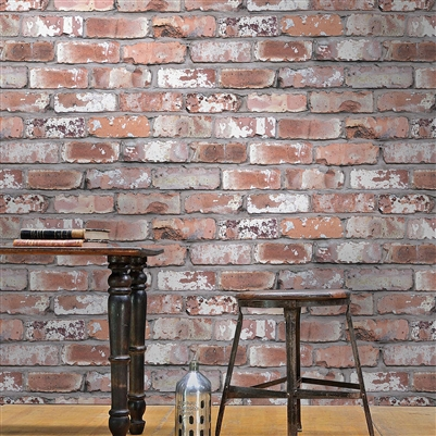 Brick Effect Wallpaper Homebase