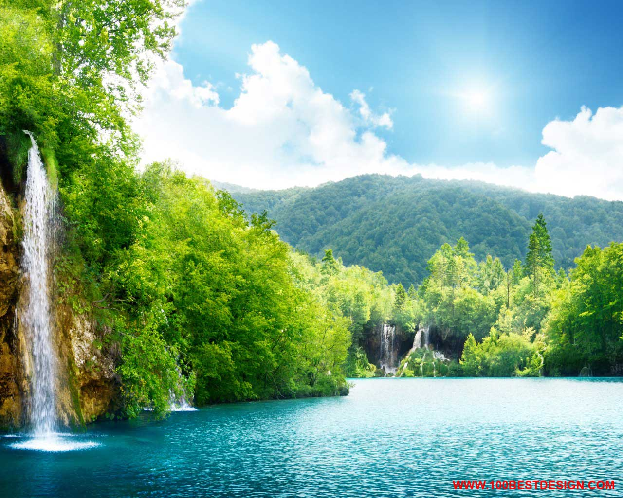 Bright Nature Wallpaper