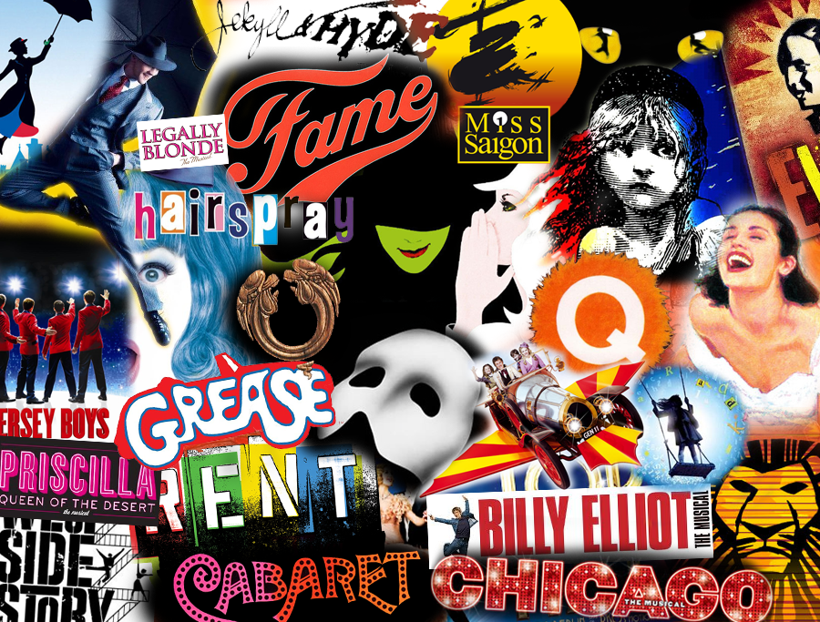 Broadway Musical Wallpaper