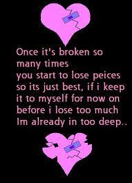 Broken Heart Poetry Wallpapers