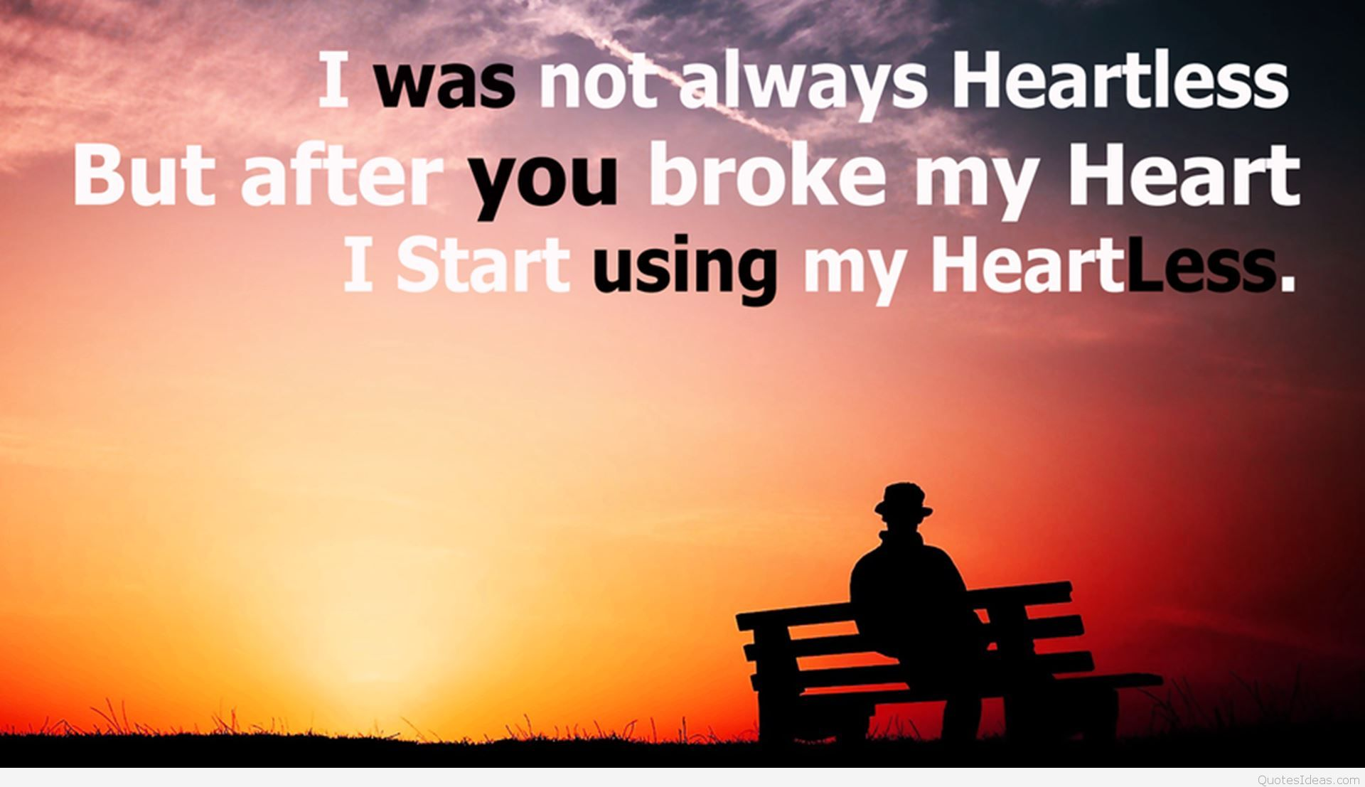 Broken Heart Thoughts Wallpaper