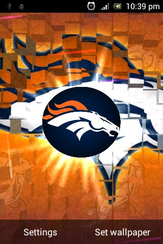 Broncos Live Wallpaper