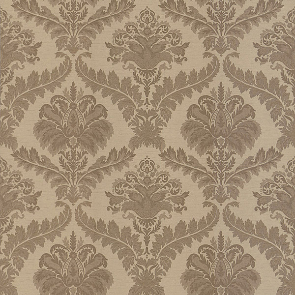 download brown and cream damask wallpaper gallery