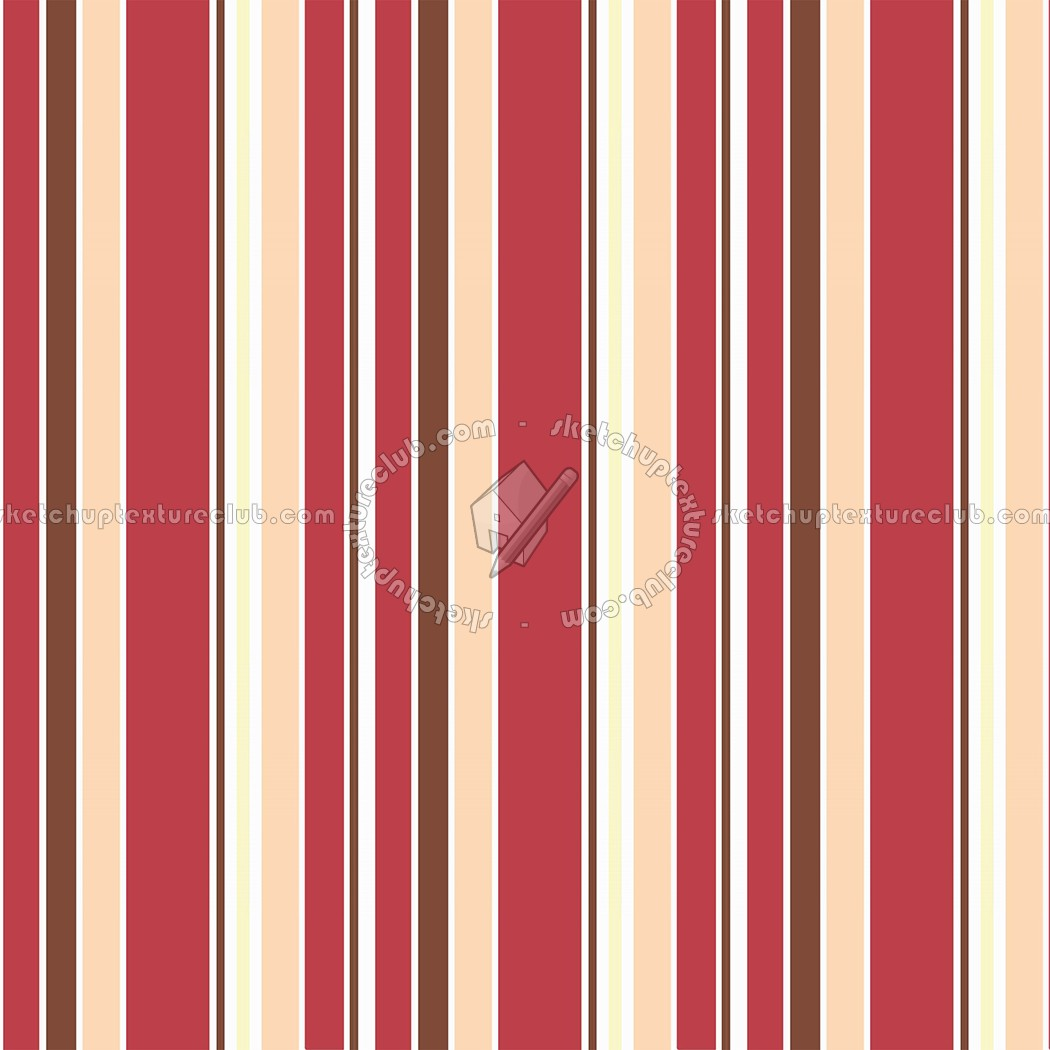 Brown And Red Striped Wallpaper
