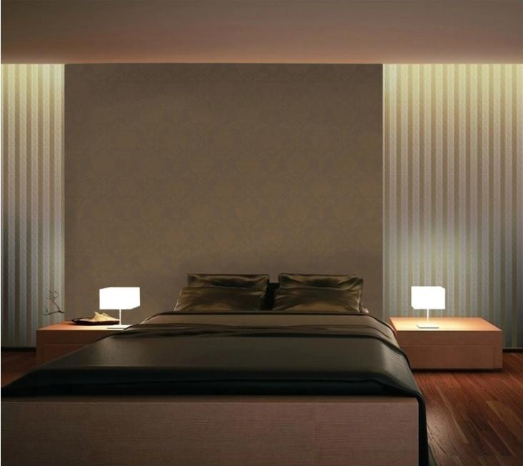 Brown Bedroom Wallpaper