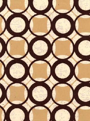 Brown Circle Wallpaper
