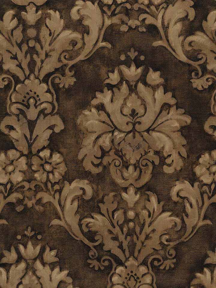 Download Brown Damask Wallpaper Gallery