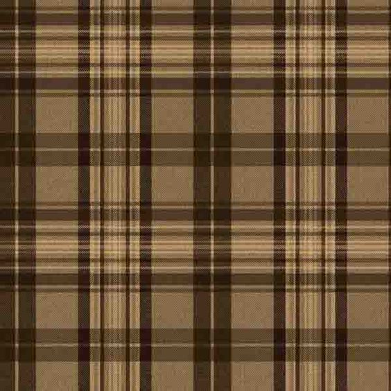 Brown Plaid Wallpaper