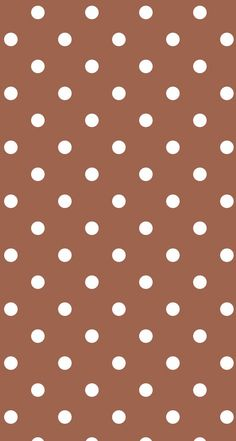 Brown Polka Dot Wallpaper