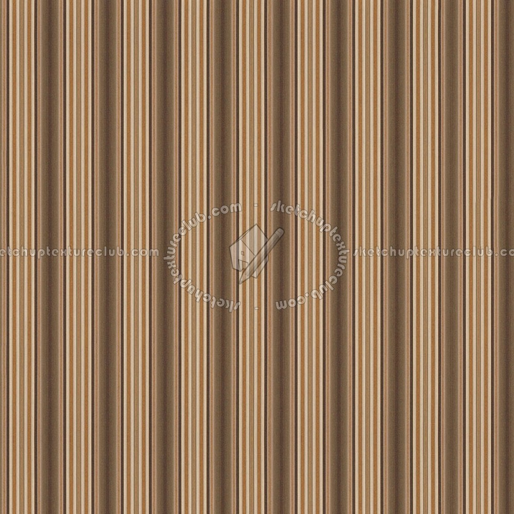 Brown Striped Wallpaper