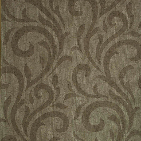 Brown Swirl Wallpaper