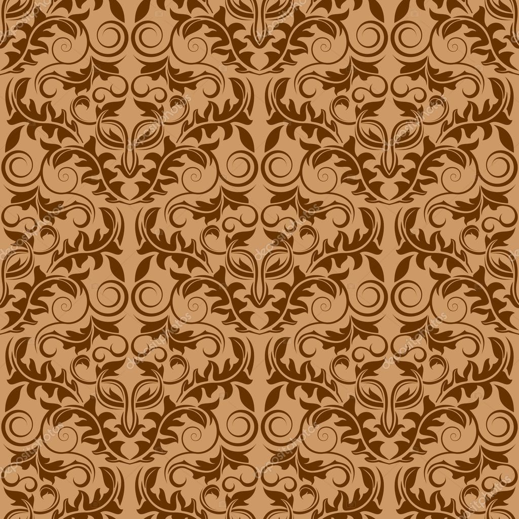 Brown Wallpaper Pattern