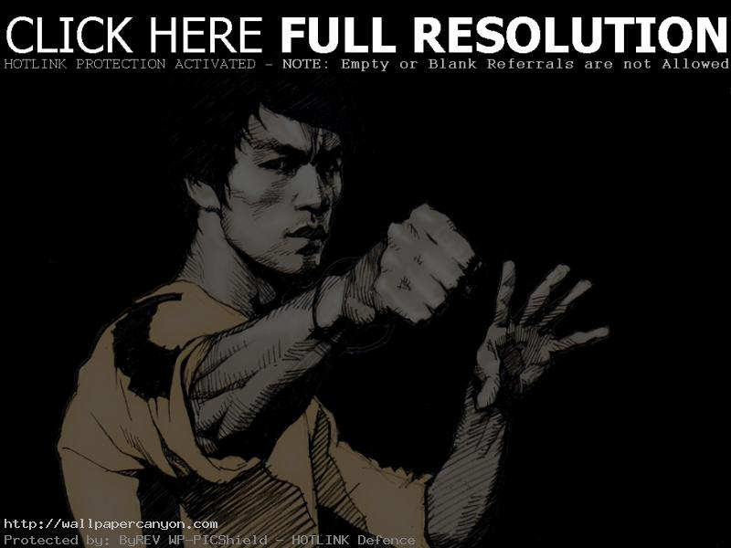 Bruce Lee Animated Wallpaper