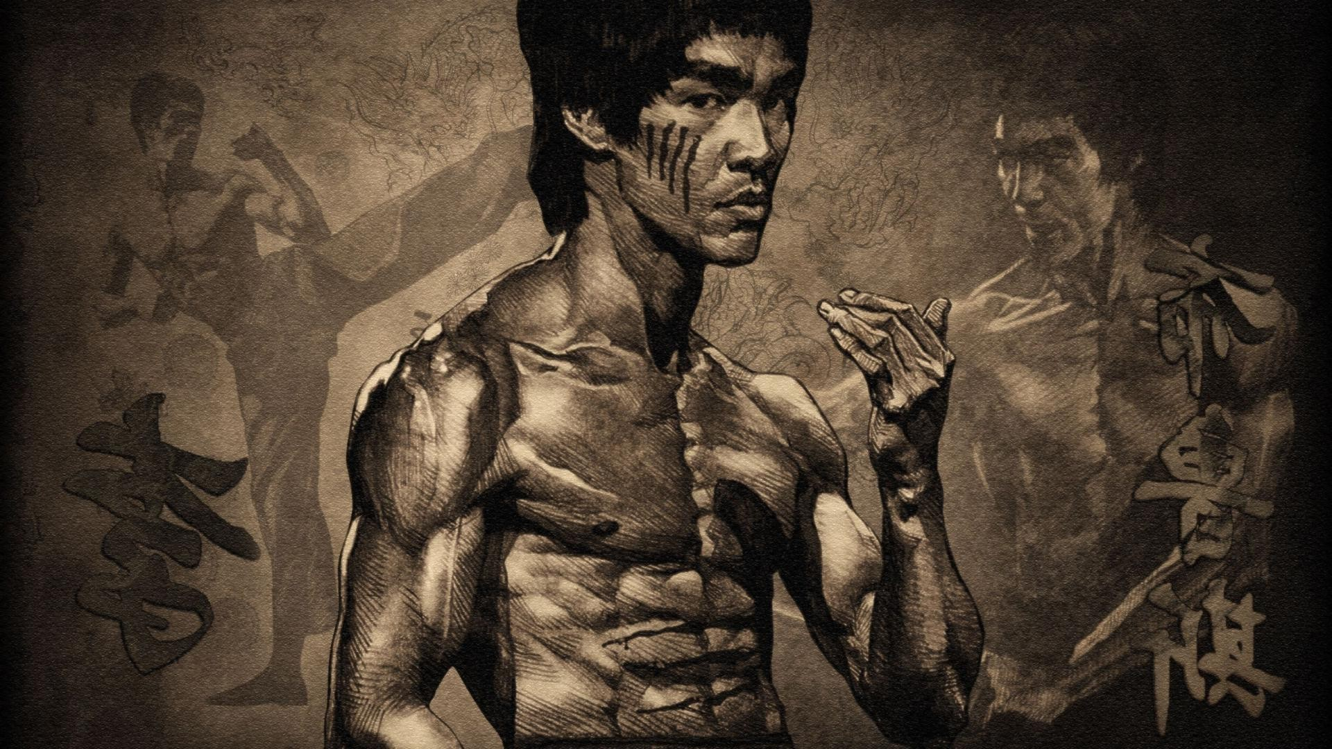 Bruce Lee Body Wallpaper