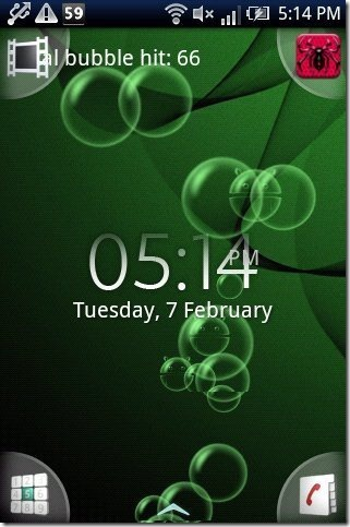 Bubble Live Wallpaper For Android