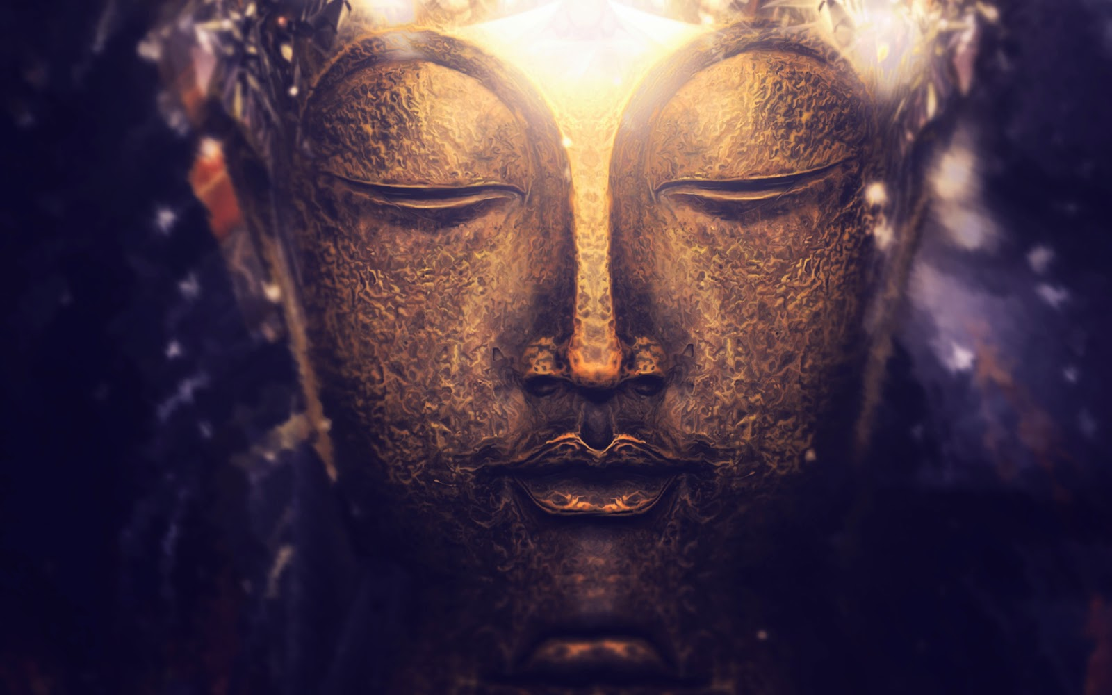Buddha Painting Wallpaper