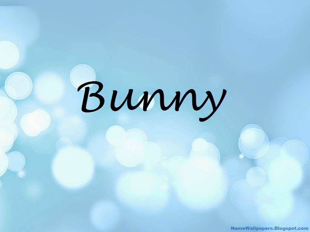 Bunny Name Wallpapers