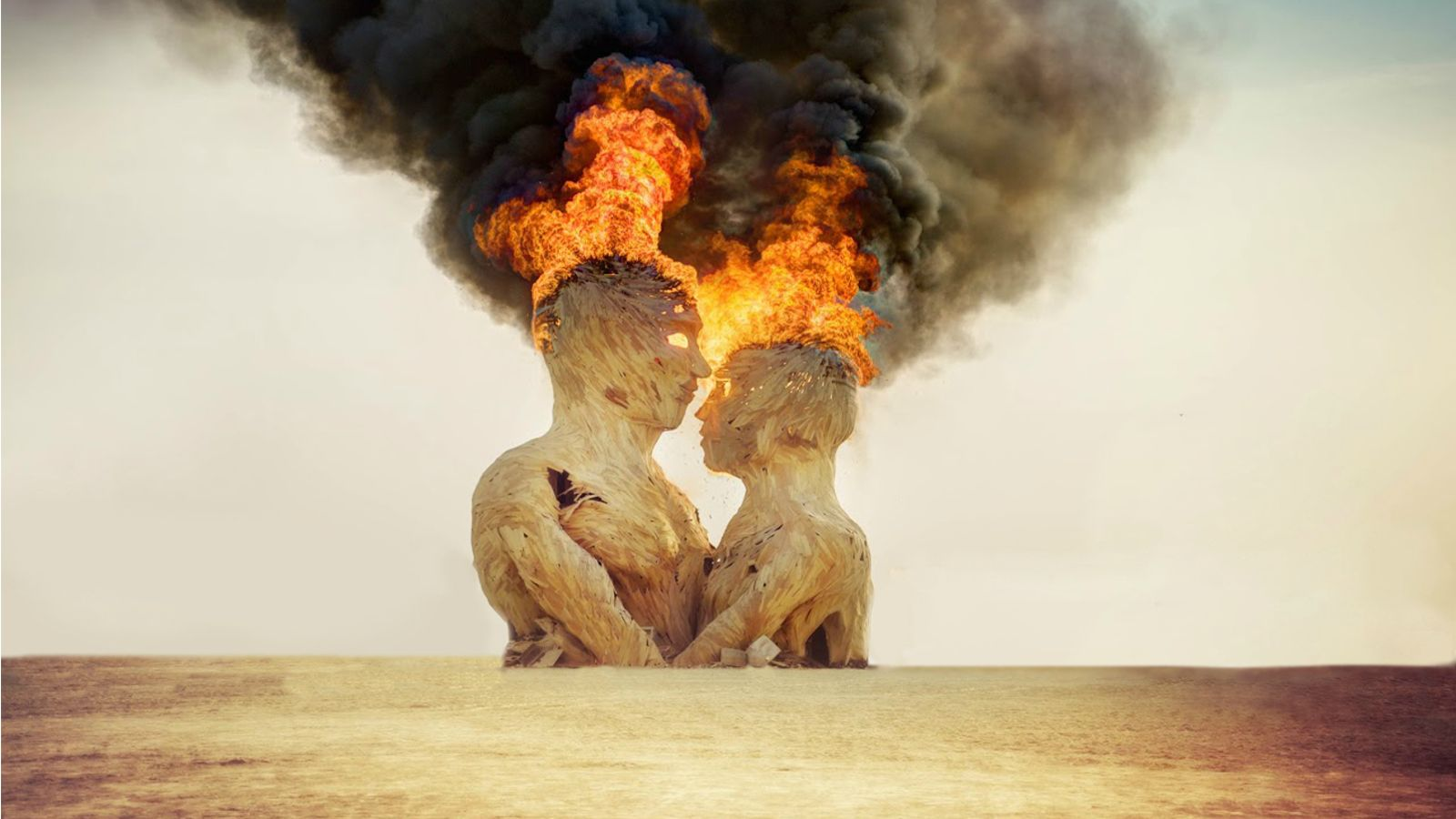 Burning Man Wallpaper