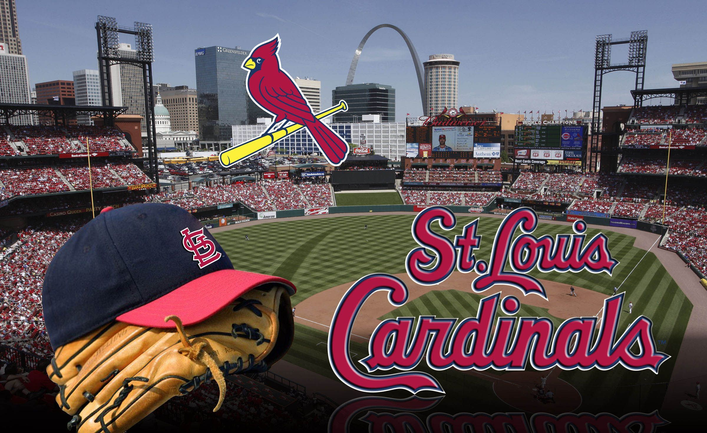 Busch Stadium Wallpaper