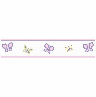 Butterfly Wallpaper Border