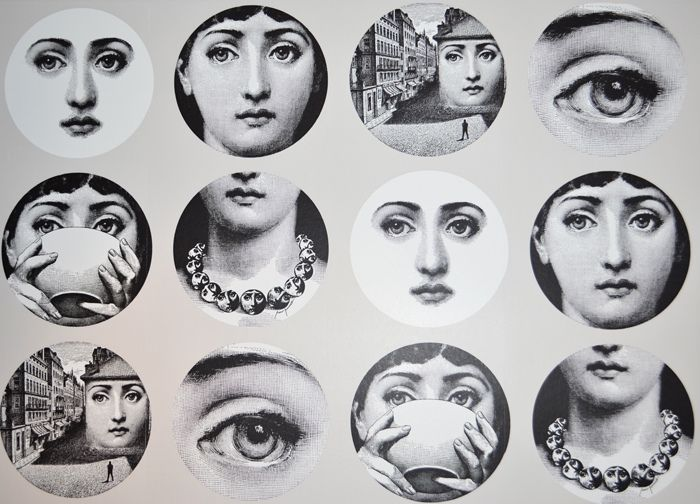 Buy Fornasetti Wallpaper