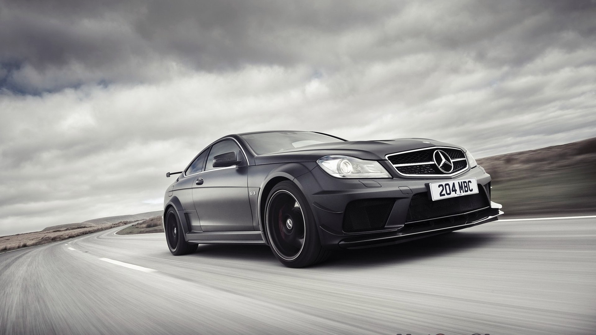 C63 Amg Black Series Wallpaper