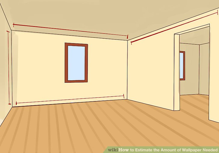 Calculate Wallpaper For One Wall