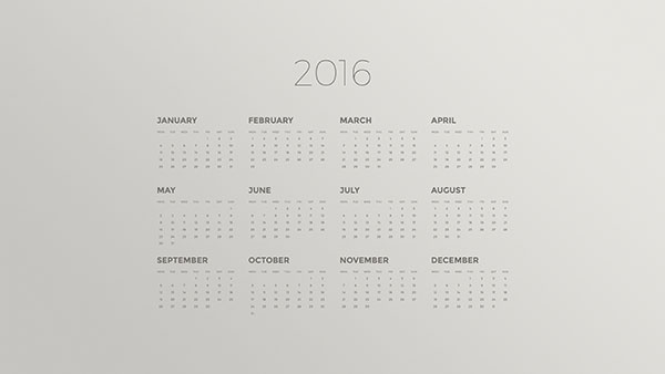 Calendar Desktop Wallpapers