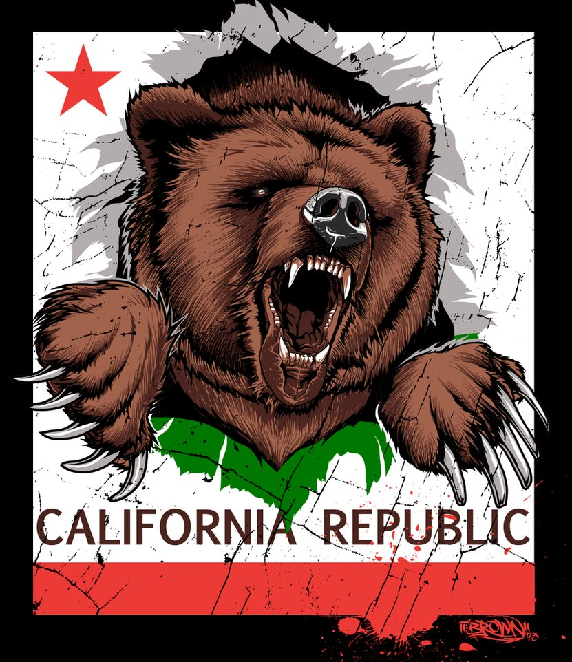 California Bear Wallpaper
