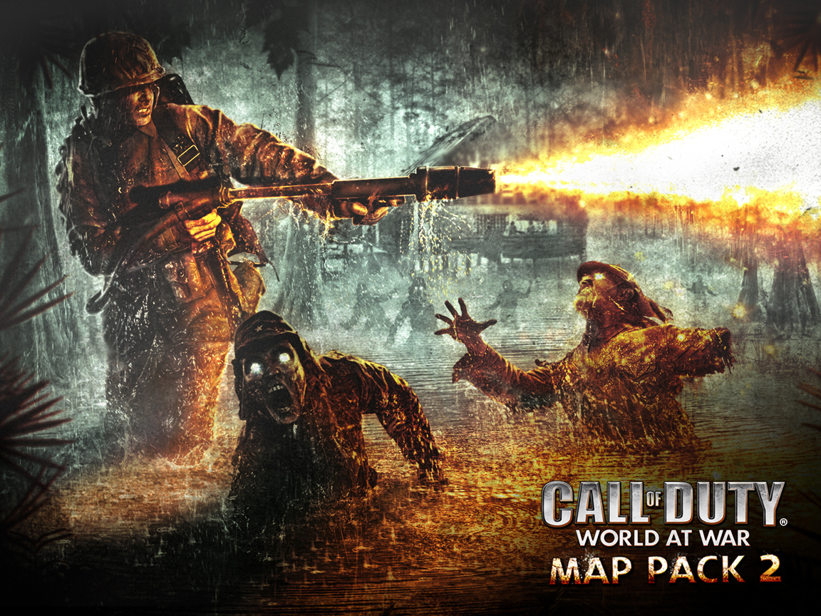 Call Of Duty World At War Zombies Wallpaper