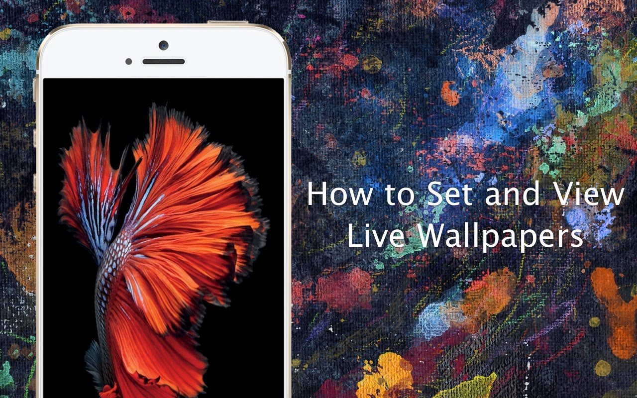 Can You Have Moving Wallpaper On Iphone