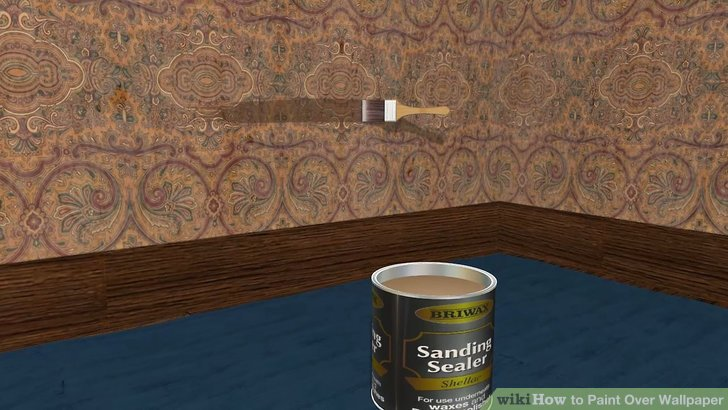 Can You Paint Over Vinyl Wallpaper Paper