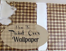 Can You Paint Over Wallpaper